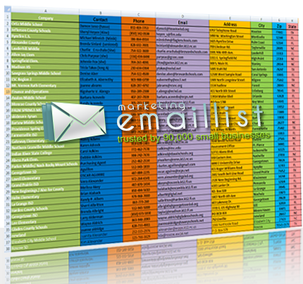 This email list will help you find what you are looking for allthe