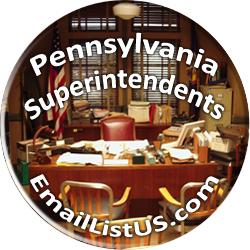 Pennsylvania Superintendents email list
