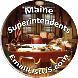 Maine Superintendents email list