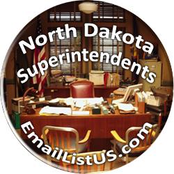 North Dakota Superintendents email list