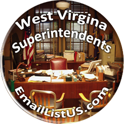 West Virginia Superintendents email list