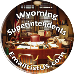 Wyoming Superintendents email list