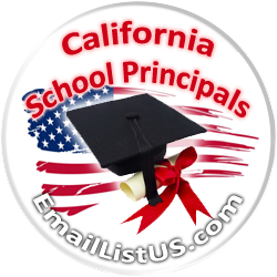 California Principals email list