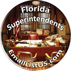 Florida Superintendents email list