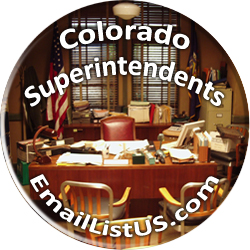 Colorado Superintendents email list