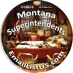 Montana Superintendents email list